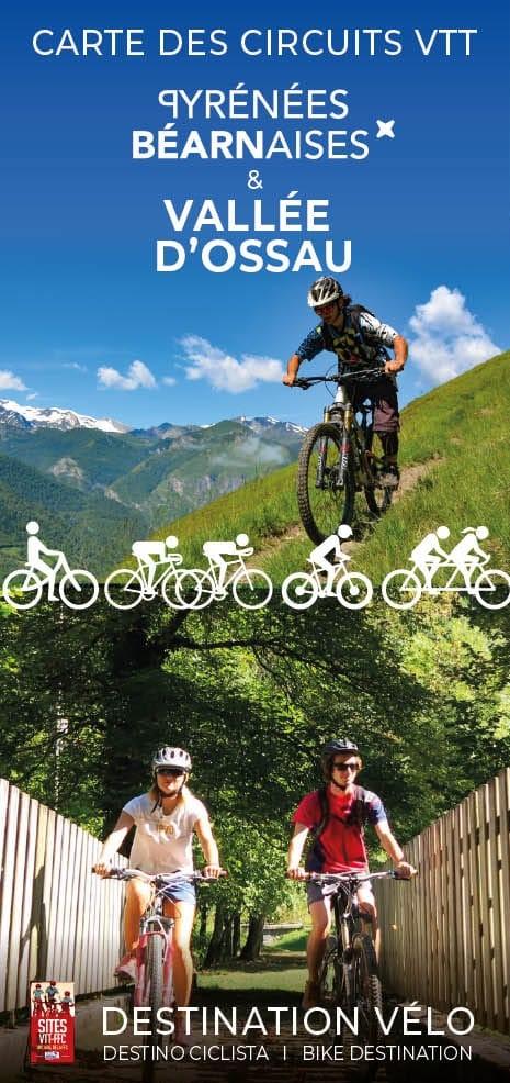Carte VTT Pyrénées béarnaises & Vallée d'Ossau