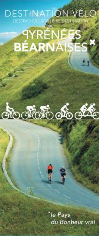 Carte Vélo Pyrénées béarnaises