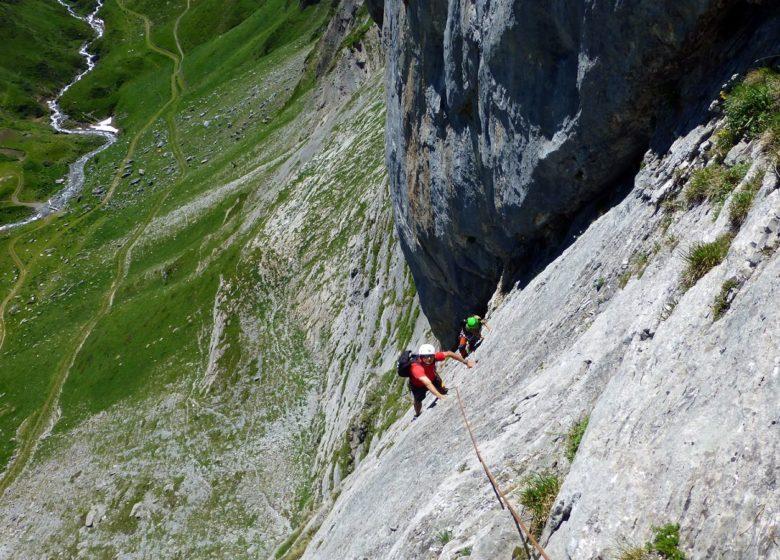Voies d'escalade Gourette