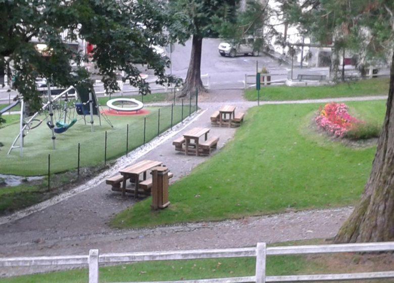 Aire de pique-nique du jardin Darralde
