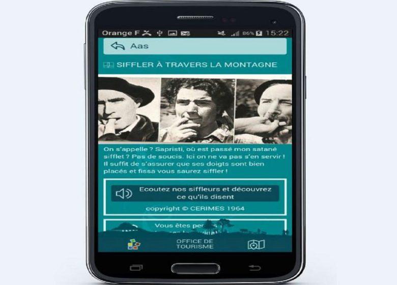 Visite en Appli Audio guide des Eaux-Bonnes