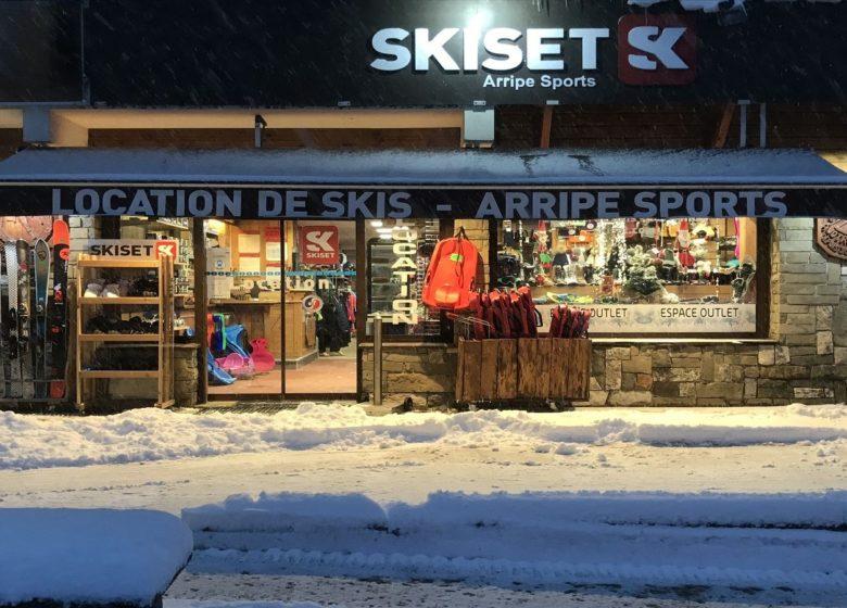 Arripe Sports – Skiset