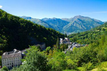 Circuit patrimoine des thermes à Eaux-Bonnes en Vallée d'Ossau