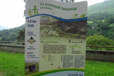 La Promenade horizontale à Eaux-Bonnes en Vallée d'Ossau