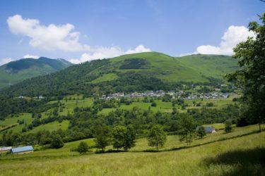 La Montagne verte à Aas en Vallée d'Ossau