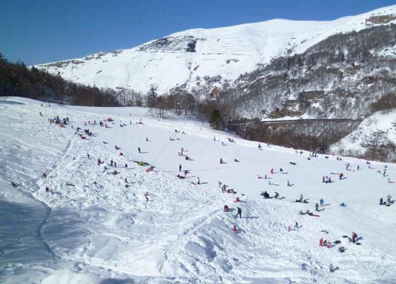Piste ski de randonnée