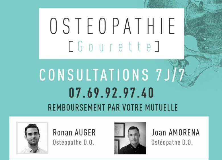 Ostéopathes AMORENA et AUGER